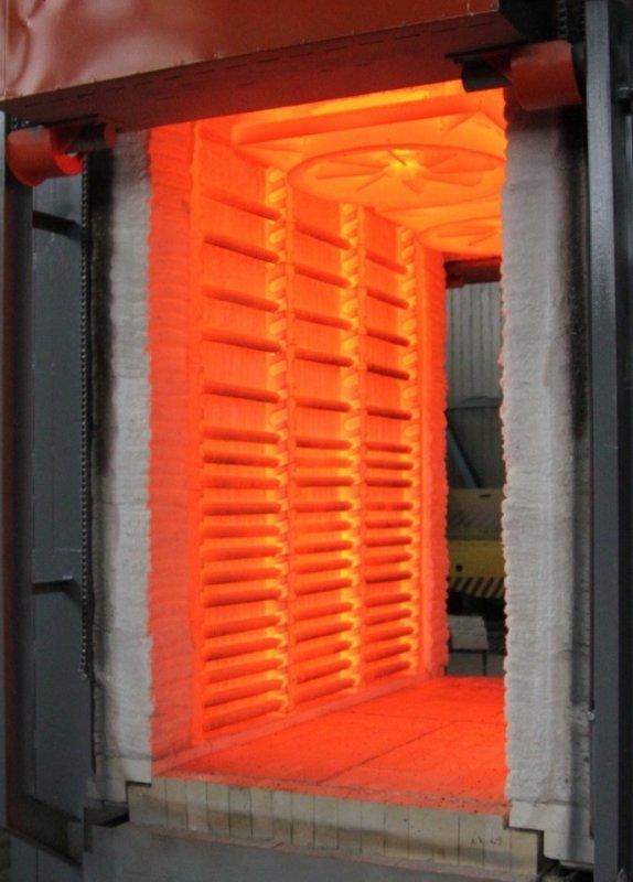 Kup teď Průchodová elektrická pec SDOP 12.21.20 ~ ~ 8.5 pro tepelné zpracování drátěných šachet.
