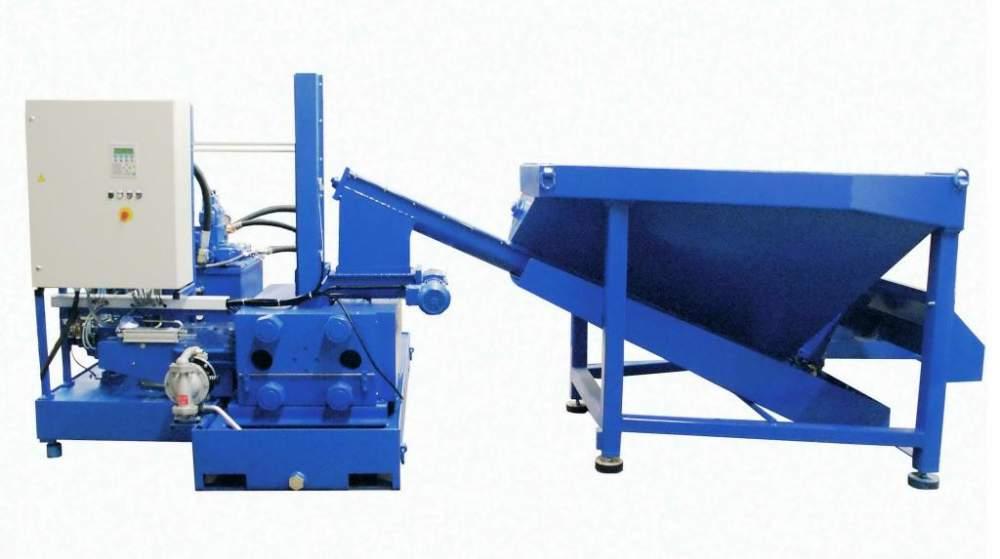 Buy RUF 18,5/3700/150x60 press for briquetting of metal shaving