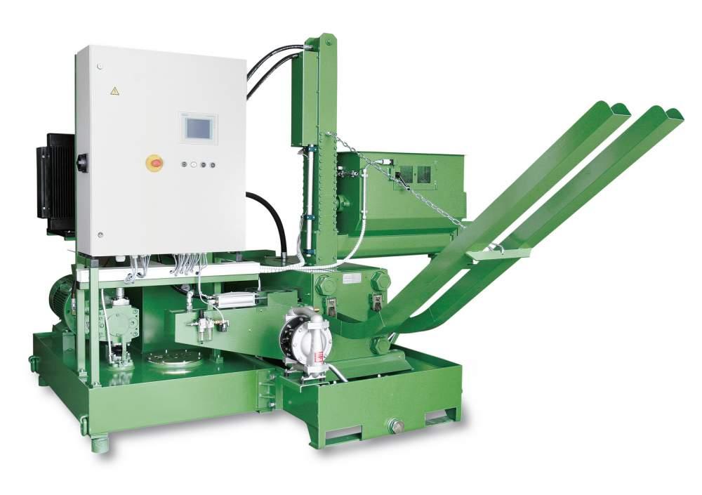 Купити Пресс RUF для брикетування металевої стружки