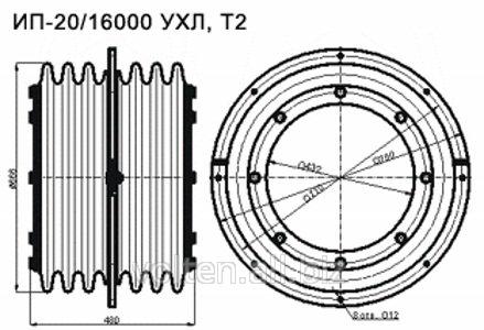 Изоляторы проходные для внутренней установки ИП-20/16000 купить.