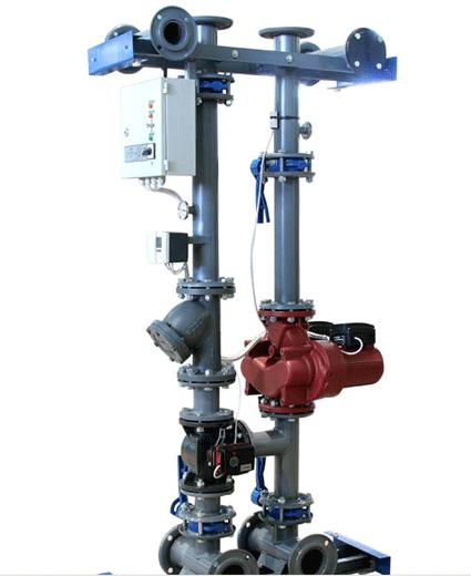 Модули-регуляторы температуры санитарные АРД32, АРД40, АРД50, АРД65, АРД80 для регулирования температуры воды в отопительной системе в зависимости от внешних погодных условий.