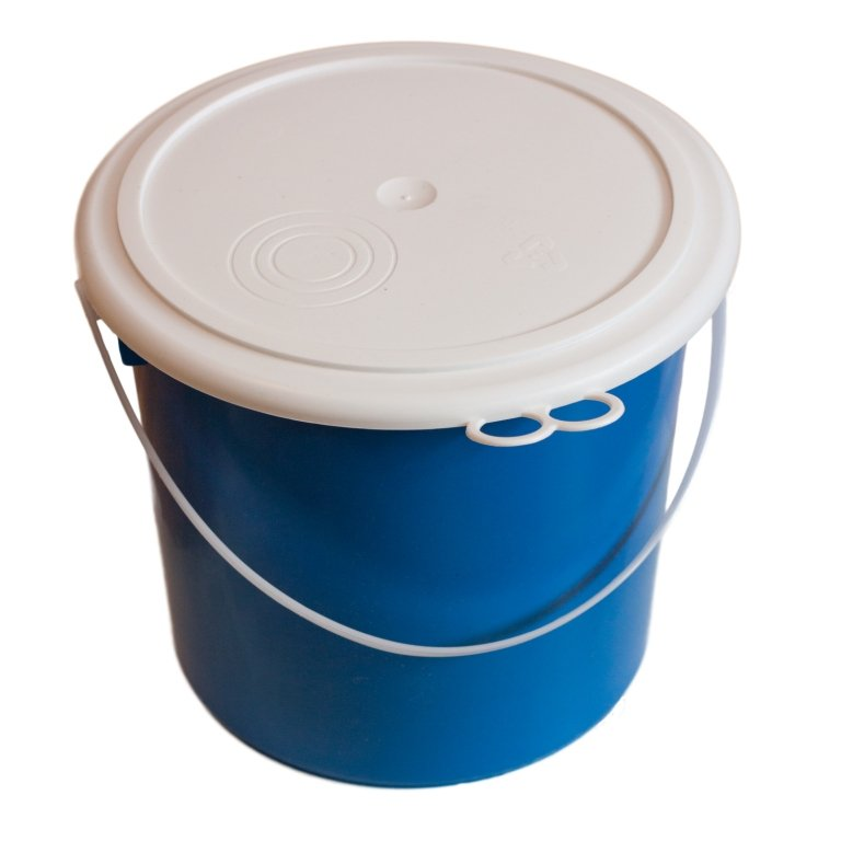 Buy Compression molds for molding of plastic. Pres form bucket of 5 l.