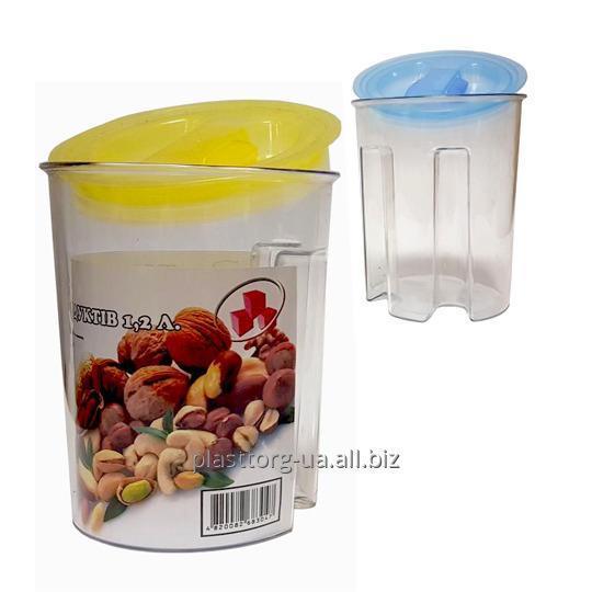 Купить Контейнер для сыпучих продуктов 1,2 л.