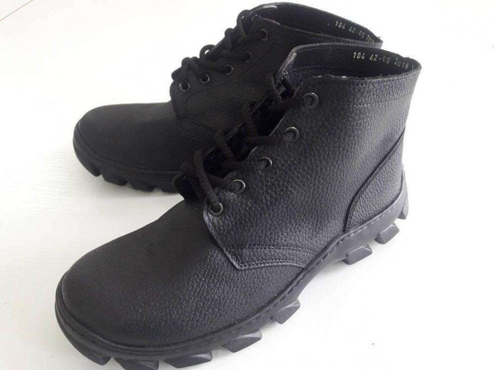 Купить Ботинки рабочие (модель 104) кожаные с полиуретановой подошвой(клеепрошивные)