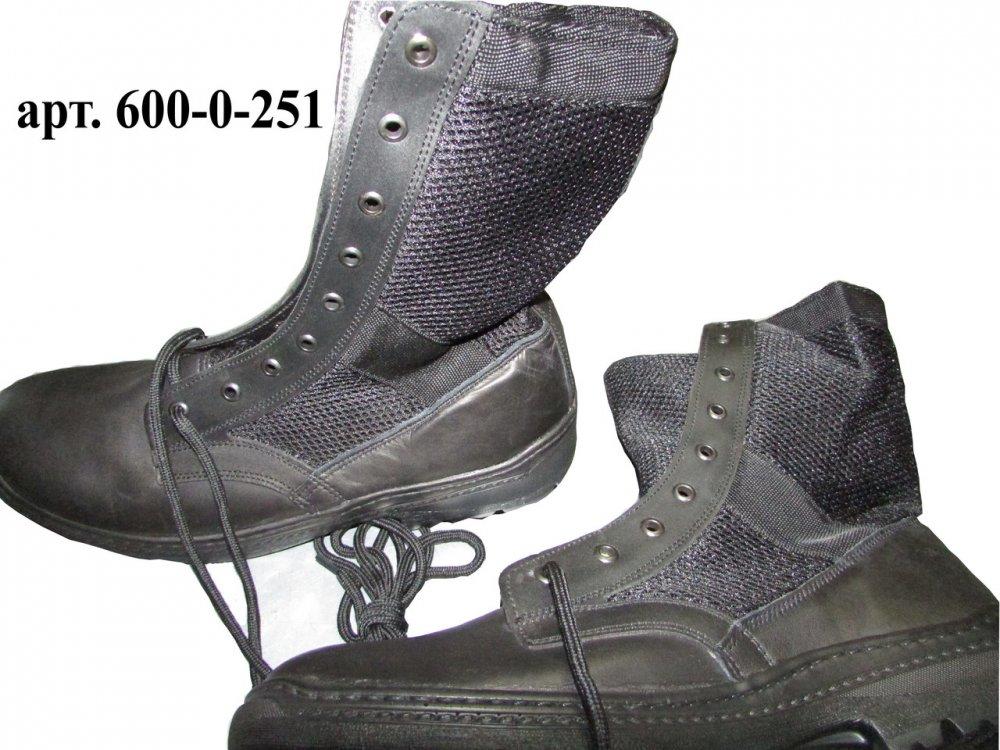 Купить Ботинки ОМОН (сетка), модель 110 (спецобувь летняя)