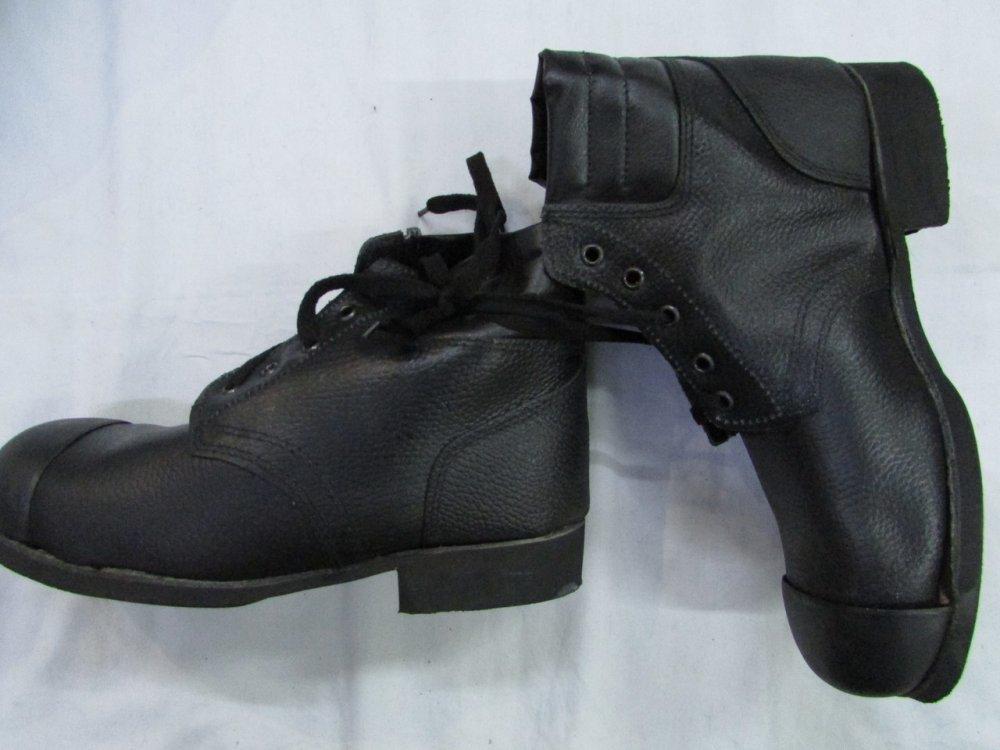 Купить Ботинки рабочие кожаные с наружным металлическим носком гвоздевого метода крепления подошвы
