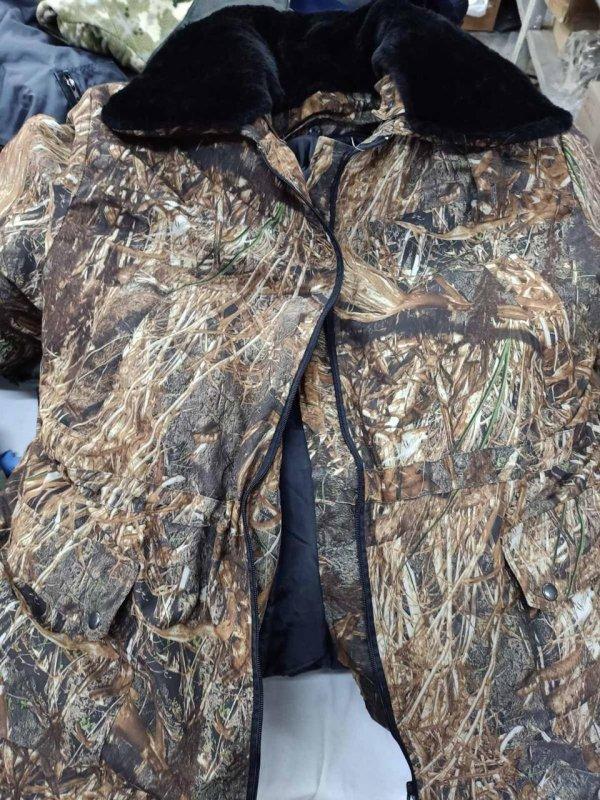 """Купить Бушлат-куртка """"Шторм-люкс"""" со сьемной утепляющей подстежкой сьемным меховым воротником, и сьемным капюшоном"""
