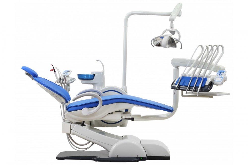 Стоматологическая установка WOVO A1 верхняя подача Woson