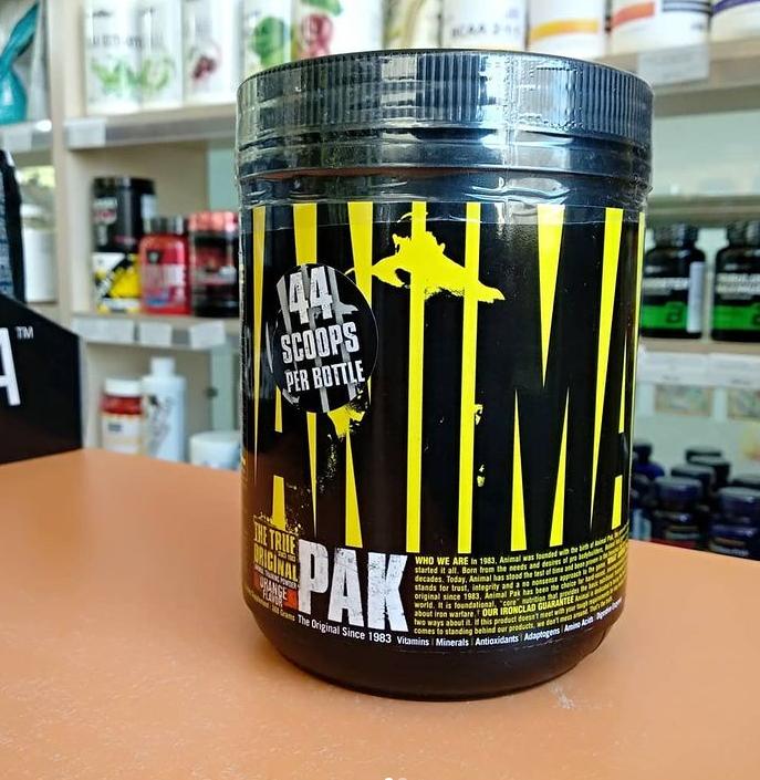 Купить Витамины и минералы Universal Nutrition Animal Pak 388 gr 44 scoops
