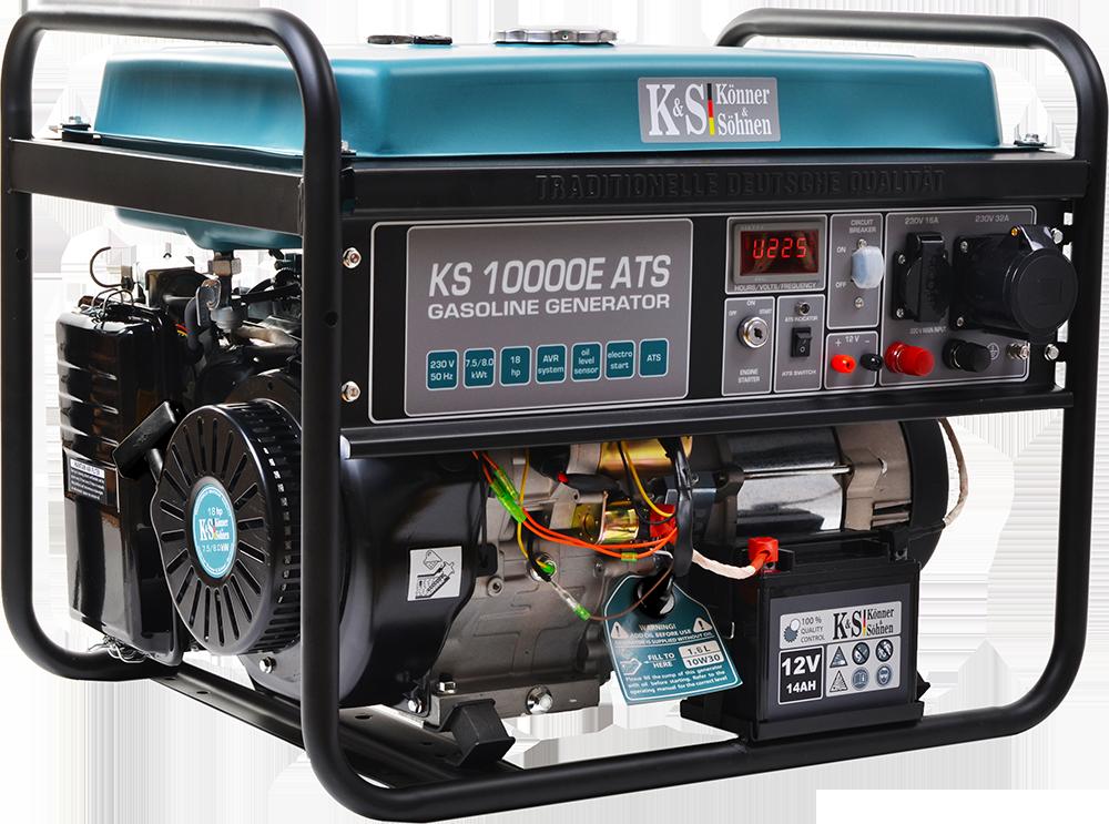 Генератор бензиновый Konner&Sohnen KS 10000E ATS