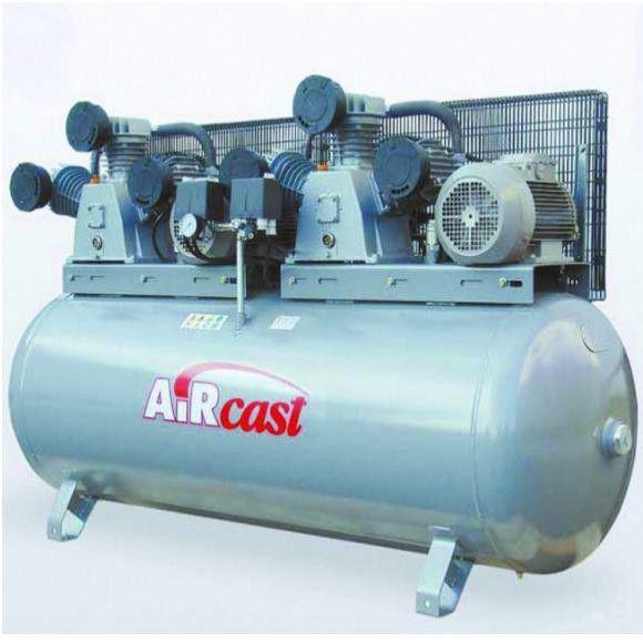 Компрессор Aircast СБ4/Ф-500. LB75Т - 5.5+5.5кВт (380В)