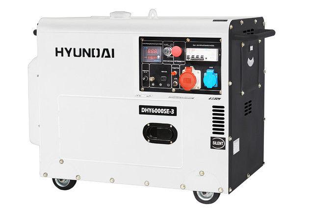 Купить Генератор дизельный HYUNDAI DHY6000 SE-3