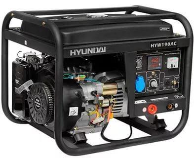 Генератор бензиновый сварочный HYUNDAI HYW 190AC