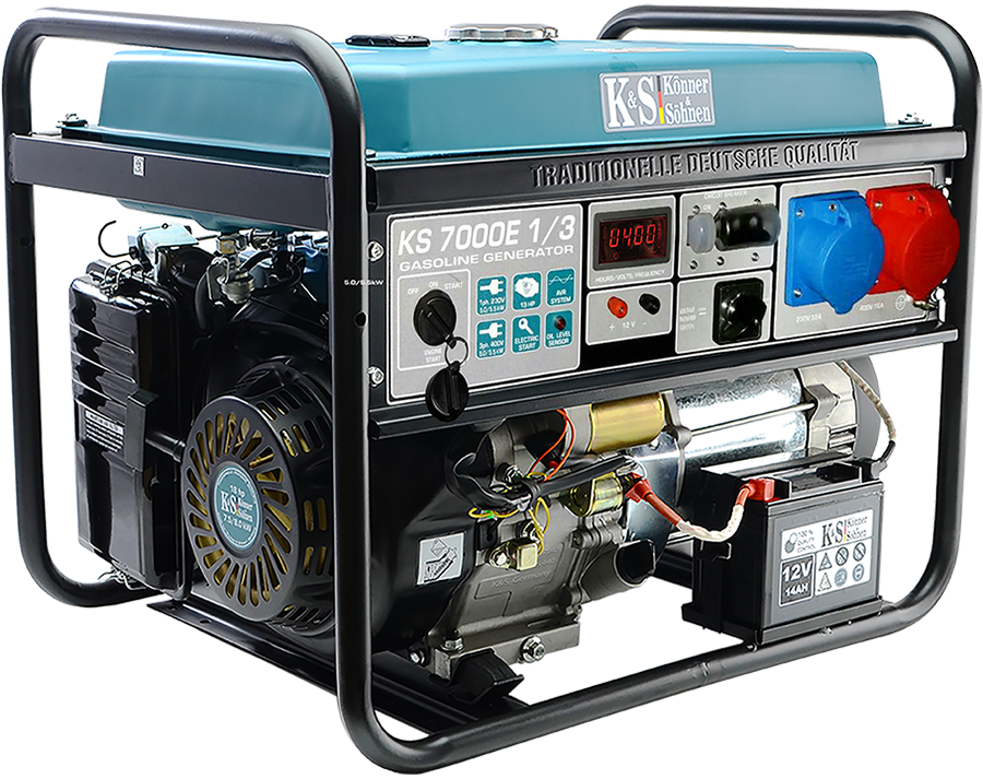 Генератор бензиновый Konner&Sohnen KS 7000E-1/3