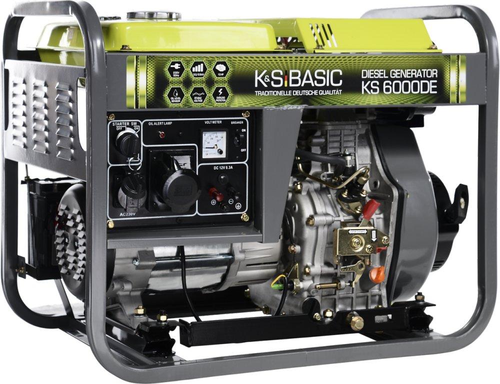 Генератор дизельный Konner&Sohnen BASIC KS 6000 DE