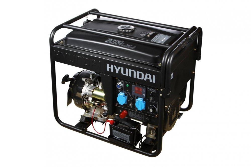 Генератор бензиновый сварочный Hyundai HYW 210AC
