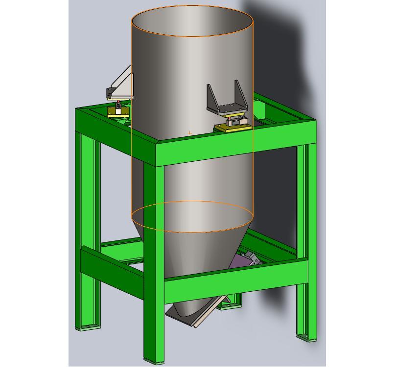 Купить Дозатор бункерный для взвешивания сыпучих материалов
