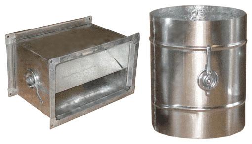 Купить Дроссель - клапаны с ручным управлением ДКК, ДКП и электрическим управлением