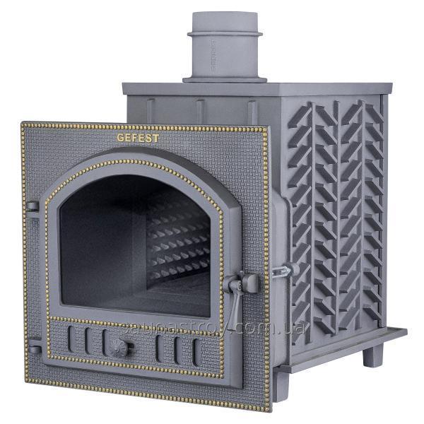 Чугунная печь для бани Гефест ЗК 25 (П)