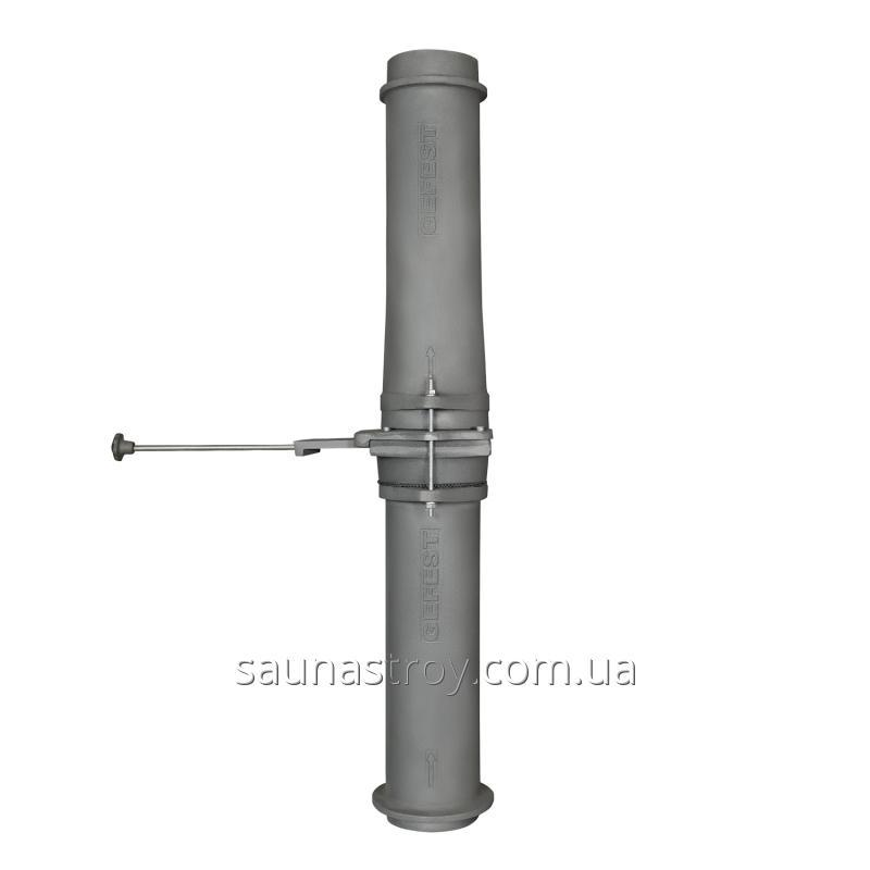 Чугунный шиберный модуль 130/1000