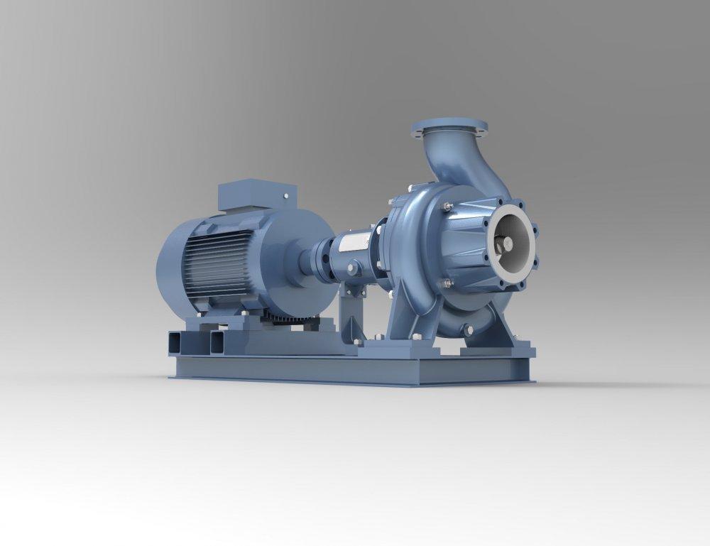 Насос PrimePump - LС 125-80-400 NN DO 75-4 AEx