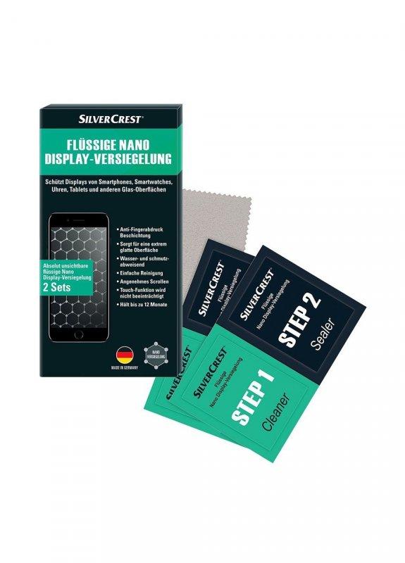 Купить Нанозащита для дисплея (4 пр.) Silver Crest Silver Crest разноцветный K02-110167