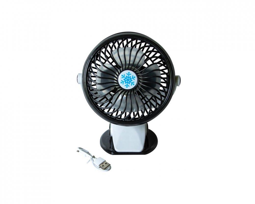 Купить Настольный мини-вентилятор ML F168 Черный