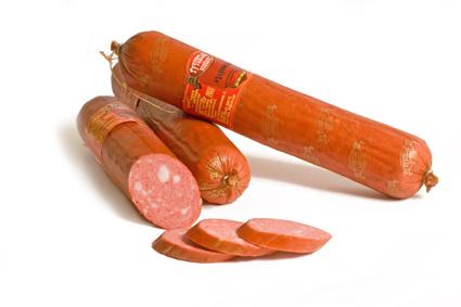 Купить Колбасы полукопчёные, Зернистая п-к (первого сорта), Купить Украина, Цена - качество отличное.