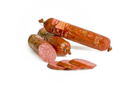 Купить Колбасы полукопчёные, Салями Зернистая п-к (первого сорта), Купить Украина, Цена - качество отличное.