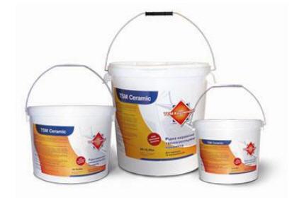 Купить Материалы жидко-керамические теплоизоляционные ТСМ Керамический, Украина