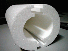 Теплоизоляция труб пенопластовая - теплоизоляционные скорлупы из пенополистирола