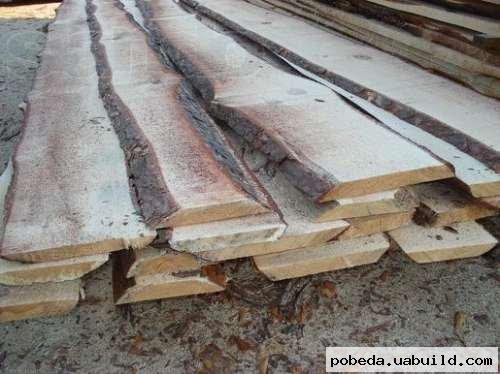Доска необрезная  строительная 25мм