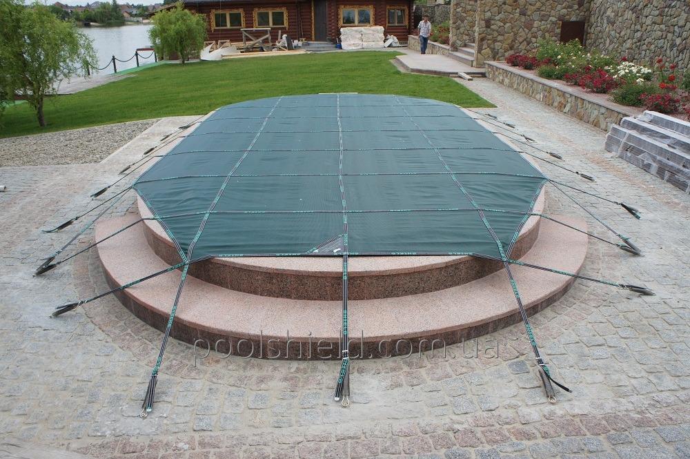 Накрытие Shield для композитного бассейна «Эталон»