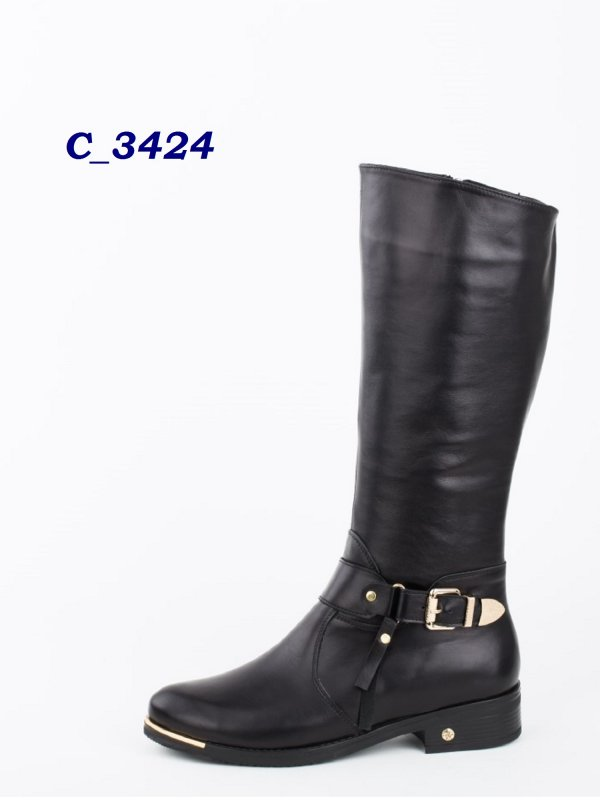 Шкіряні фабричні жіночі чоботи купити в Дніпро e0b5df8a99683