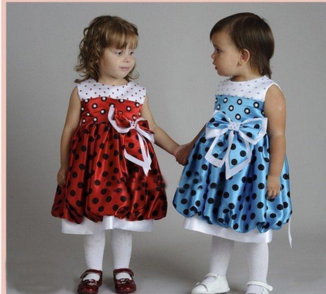 Платье детское на самых маленьких