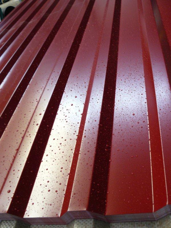 Профнастил Стримэкс С-12 RAL 8017 0,3 мм шоколад