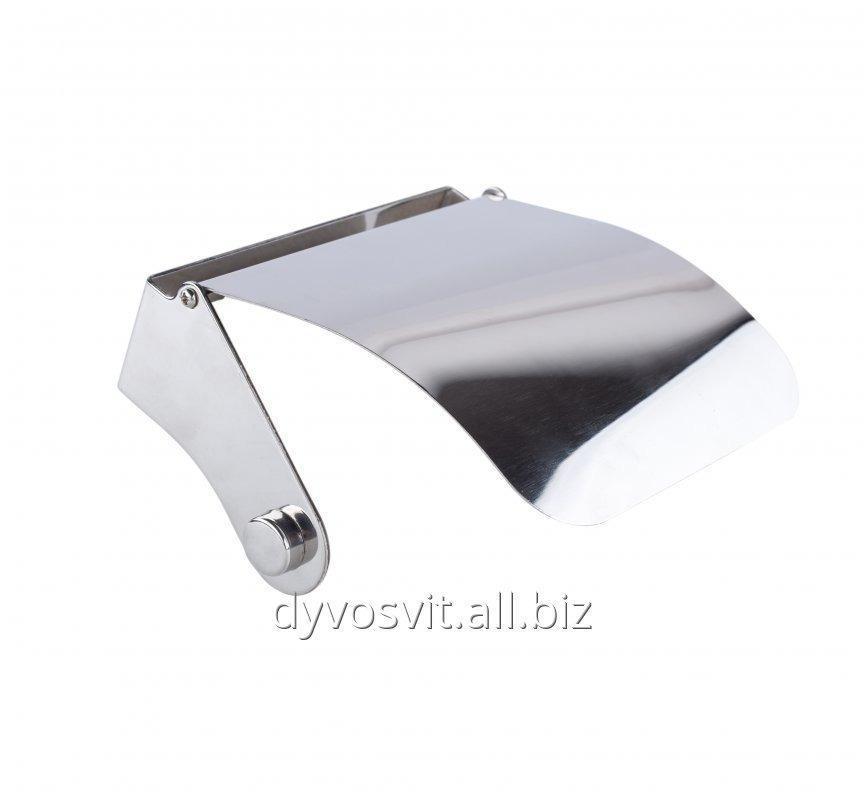 Тримач для туалетного паперу нержавіюча сталь