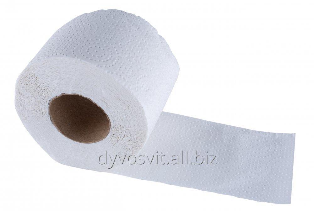 Туалетний папір 15м на гільзі