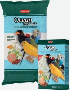 Купити Наповнювач для птахів OCEAN fresh air 5кг