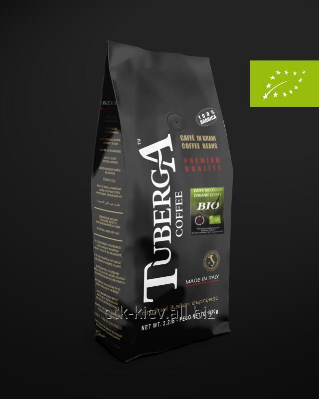 Кофе в зернах Tuberga Premium Bio 100% Arabica