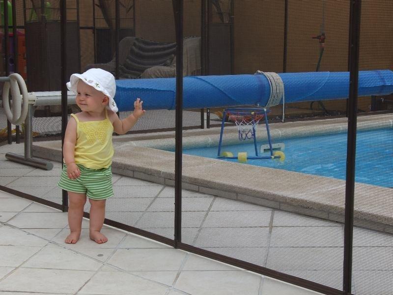 Швидкознімний паркан для басейну Shield