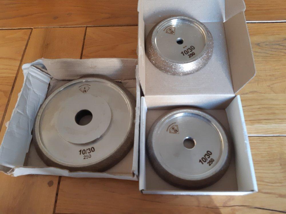 Заточувальні борозоновые диски