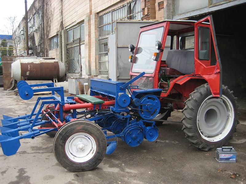 Полесье Трактор Крепыш с прицепом №2 и ковшом купить в.