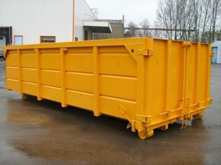 Buy Containers garbage metal from 7 to 40 m3