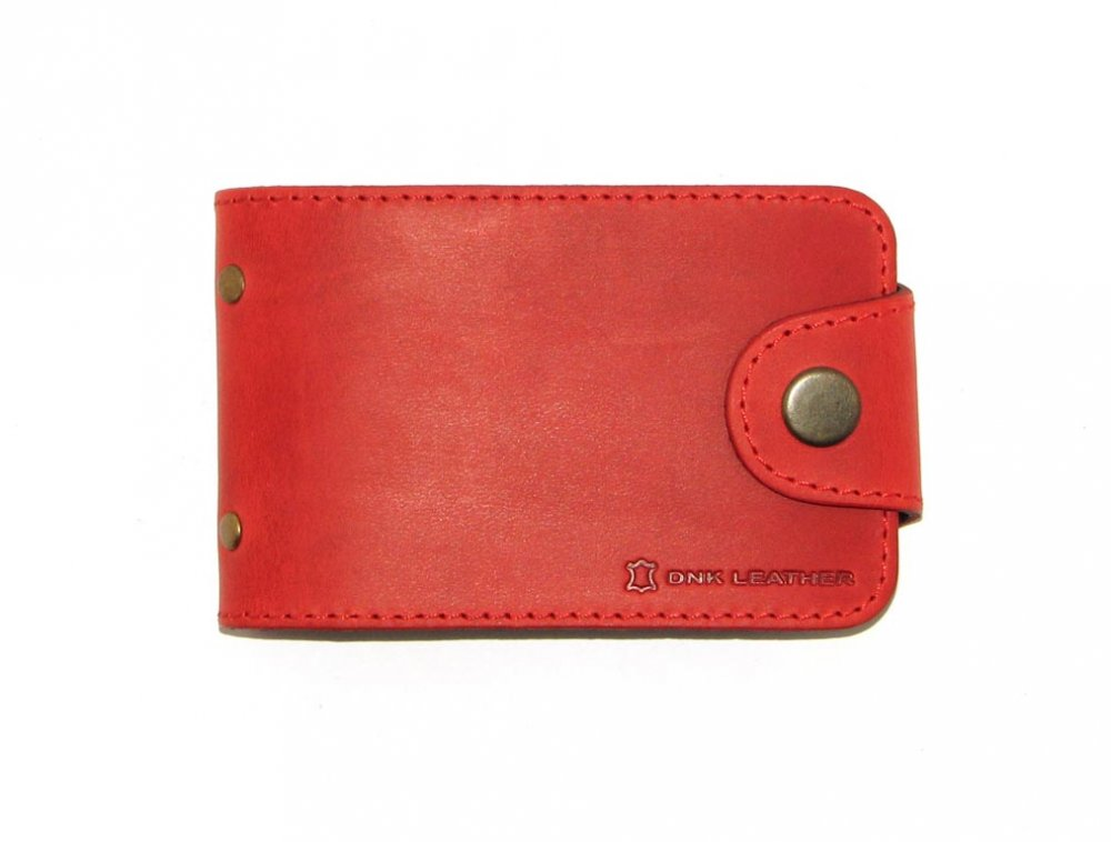 Купить Визитница DNK Leather DNK Cards-H col.H красная