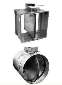 Купить Клапаны противодымной вентиляции зданий и сооружений КДМ-2.