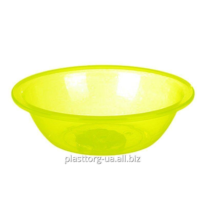Buy Transparent round bowl, 3.8 l.