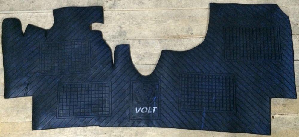 Купить Резиновый коврик в салон Volkswagen LT для автобусов и микроавтобусов