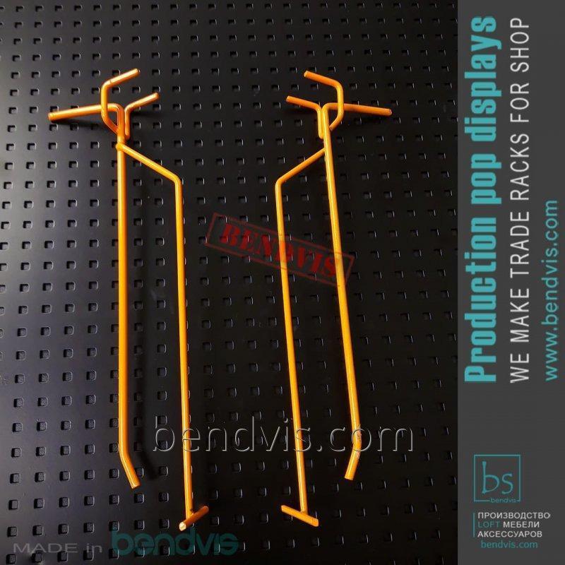 Крючки для стеллажей с перфорацией