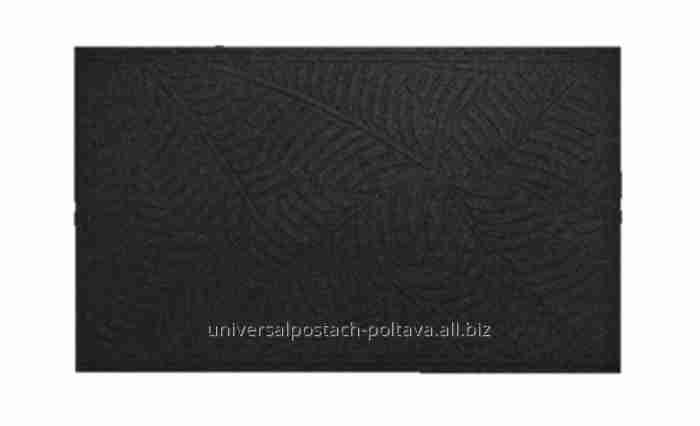 Купить Резиновый коврик с ворсовым покрытием 45*70*0,5см